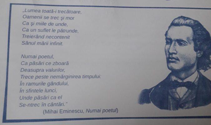 Numai poetul - Mihai Eminescu